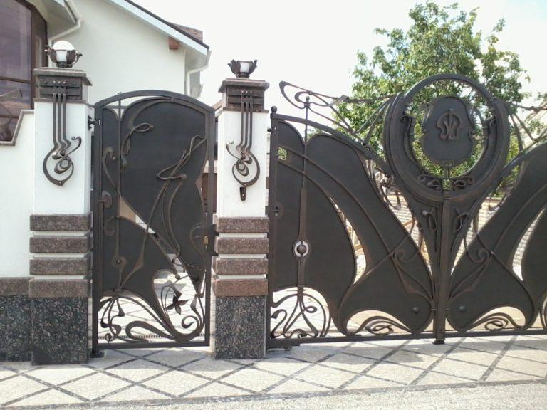 """Ворота и калитка """"Поместье"""""""
