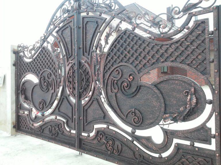 "Ворота и калитка ""Декор"""