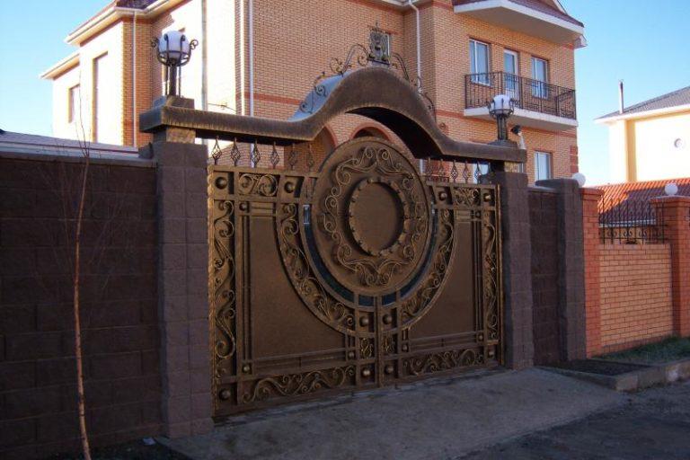 "Ворота и калитка ""Турция"""